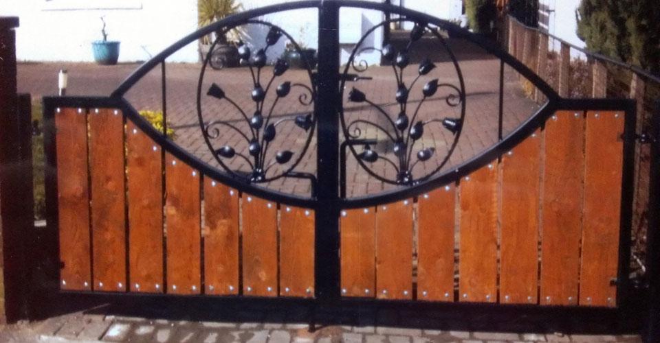 Blacksmiths Wrought Iron Gates Glasgow Cast Iron Gates